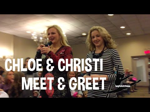 Dance Moms Meet & Greet: Chloe & Christi NYC (11.26.2014)