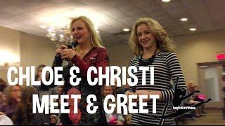 Dance Moms Meet & Greet: Chloe & Christi NYC (11.26.2014)