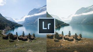 How to Edit Landscapes Like @christiantrustrup Instagram Adobe Lightroom Editing Tutorial