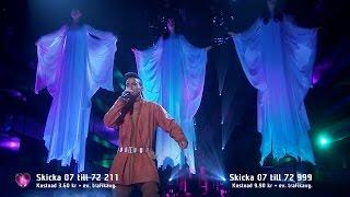 Jon Henrik Fjällgren - Jag är fri ( Manne Leam Frijje )( Melodifestivalen 2015, Deltävling 3 ) HD