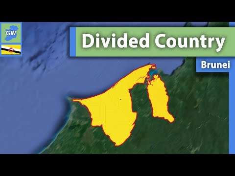 This Country is no longer split in 2: BRUNEI | Temburong District Pene-Exclave