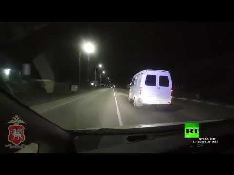 مطاردة بوليسية مع إطلاق نار تنتهي بانقلاب السيارة  - نشر قبل 5 ساعة