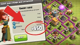Clash Of Clans Ultimate Town Hall 6 War & Trophy Base | Defense Base | 2017 - 2018
