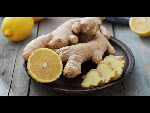 Имбирь с медом и лимоном//от простуды//от кашля//для повышения иммунитета
