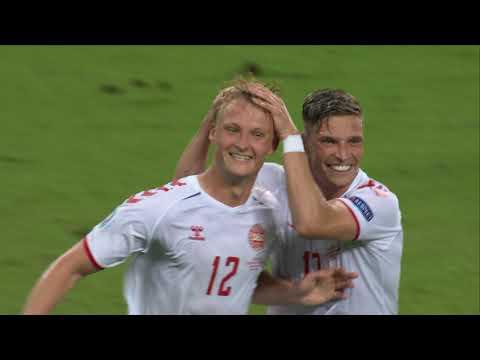 Czech Republic Denmark Goals And Highlights