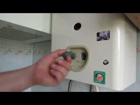 Видео Termet газовая колонка на