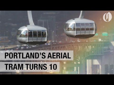 Portland's aerial tram turns 10
