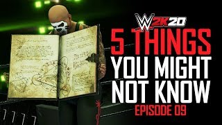 WWE 2K20: 5 Things You Might Not Know #9 (Bonus Match Types, Jericho/Ambrose, Book FAIL & More)