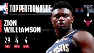 Zion DOMINATES In Chicago | 2019 NBA Preseason