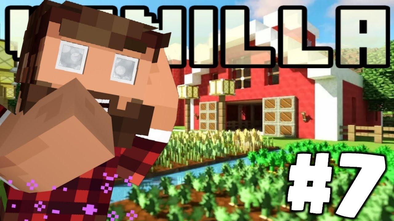 Camera Da Letto Minecraft minecraft vanilla - il fienile #7