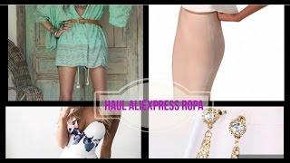 haul aliexpress ropa // haul verano// ali express clothing// vloggers