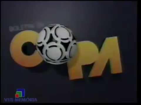 Abertura Boletim da Copa - Rede Manchete (1990)
