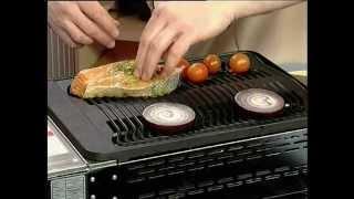 Завтрак. Маринованный лосось
