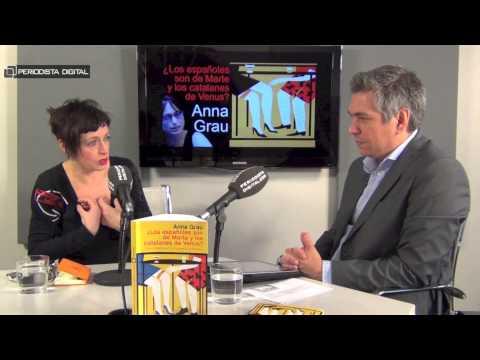 Anna Grau, autora de '¿Los españoles son de Marte y los catalanes de Venus?' 10-4-2015