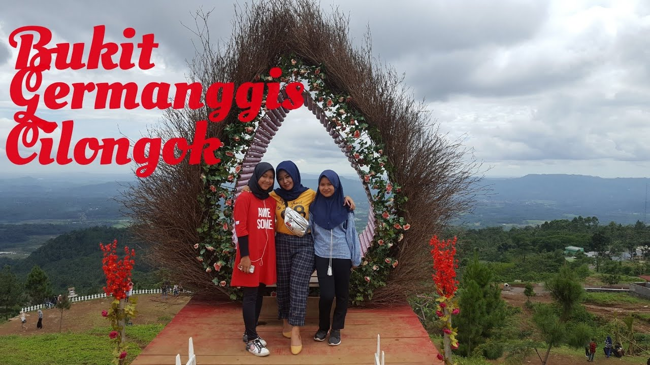 Bukit Germanggis //Wisata baru di Cilongok Banyumas