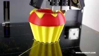 Двухцветная 3D печать на 3D принтере Mankati [3DPrinter.org.ua](3D печать с использованием двух экструдеров. Заказать 3D печать в Украине Вы можете здесь: http://3dprinter.org.ua/3d-print/..., 2015-03-31T19:31:58.000Z)