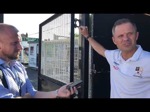 Neil kitching talks to David Broome about derby loss 28/8/17