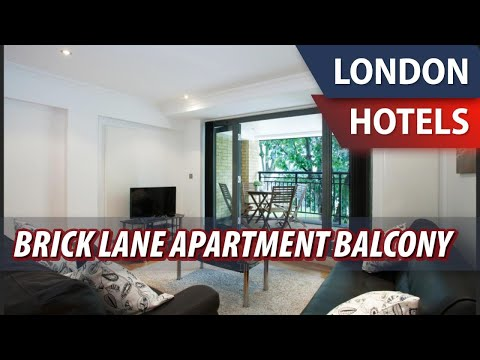Brick Lane Apartment Balcony | Review Hotel In London, Great Britain