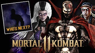 Mortal Kombat 11 - FIRST Look At Spawn, Sindel & Nightwolf! LAST 2 DLC Reveal Soon?!