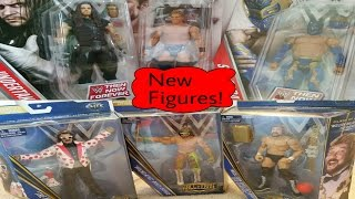 New WWE Hall Of Fame 3 and Then Now Forever figure pickups!!!