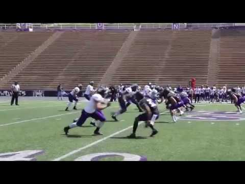 Weber State 2018 spring football highlights and Jay Hill