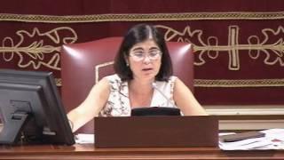 Nati Arnaiz (Podemos) sobre pacientes psiquiátricos en el Hospital Insular de Gran Canaria