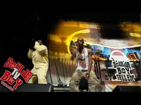 Soulja Boy brings 50 Cent out AMW Tour