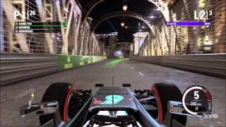 F1 2015 - Marina Bay Street Circuit | Singapore Grand Prix Gameplay (PC HD) [1080p]