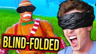 WINNING Fortnite BLIND Challenge!