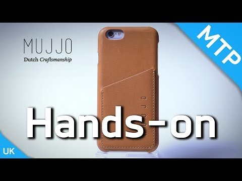MUJJO Leather Wallet Case For IPhone 6/6S - Hands On Video - MyTrendyPhone