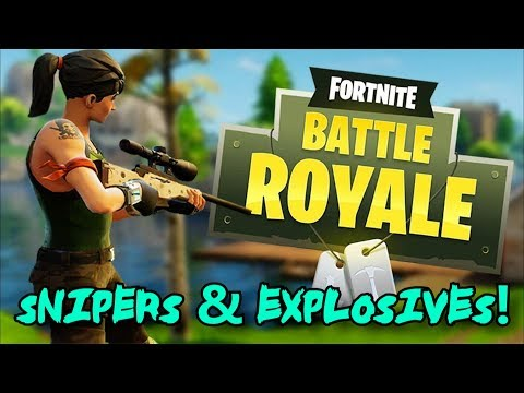 Fortnite Battle Royale: Snipers & Explosives - Battle Pass Level 97!