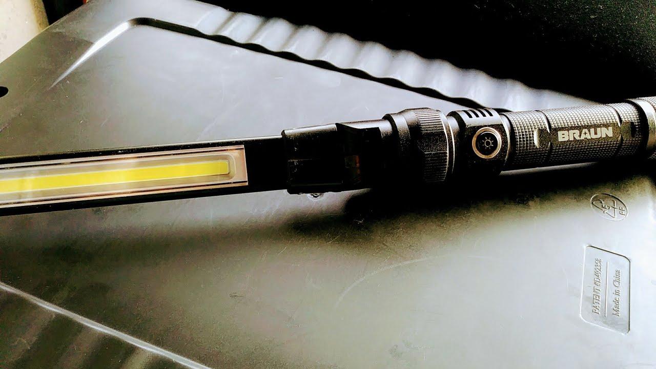 Deal Alert Braun 63958 390 Lumen Led Light From Harbor Freight
