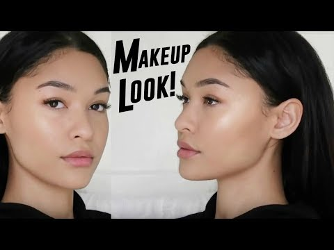 QUICK & NATURAL MODEL OFF DUTY MAKEUP LOOK!
