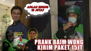 Gambar cover PRANK BAIM WONG !! SEKURITINYA GALAK BORRR