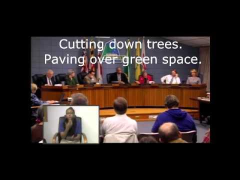 Reasons why cell towers do not belong near kids-  Councilwoman Judith Davis