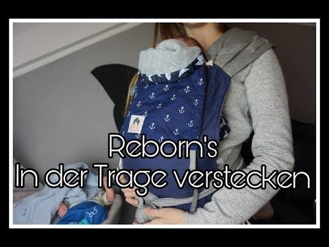 reborn baby in der trage echt aussehen lassen reborn baby deutsch youtube. Black Bedroom Furniture Sets. Home Design Ideas