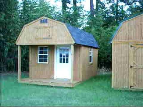 Lofted Barn Cabin 10x16 Youtube