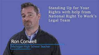 Teacher Stands Up Against Michigan Teacher Union Scheme and Wins for all Michigan Public Employees