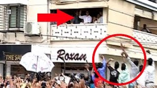 Crazy Fans ATTACK Salman Khan's House Galaxy In Bandra Ahed Of Bajrangi Bhijaan's Release