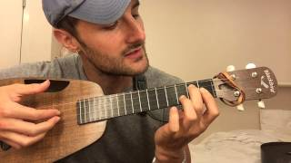 With A Smile - UKULELE CHORDS TUTORIAL