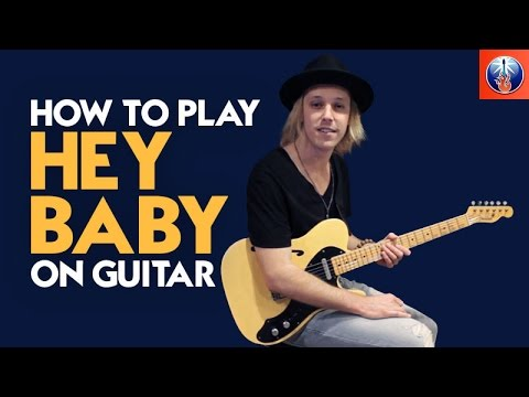 How to Play Hey Baby on Guitar - Ted Nugent Guitar Lesson