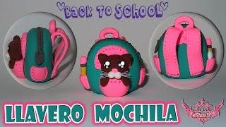 ♥ Tutorial: Llavero Mochila con Gatito || Vuelta a clases || Back to School  ♥