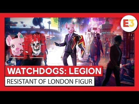 "WATCH DOGS®: LEGION – ""Resistant of London""-Figur – Enthüllungstrailer | Ubisoft [DE]"