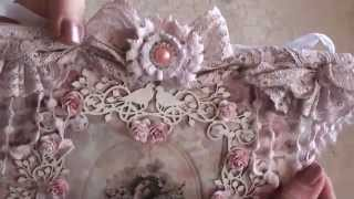 Wild Orchid Crafts - Vintage Style Paper Wall Hanging