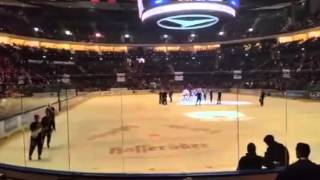 04.12.2015 | Eisbären Berlin vs. Adler Mannheim 6:2 |Nach dem Spiel