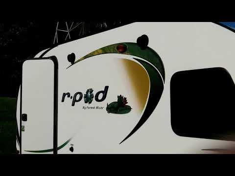 Off Grid RV Solar with Renogy 100 Watt Solar Suitcase w/Charge Controller- Forest River R-Pod 179