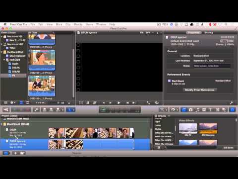 Getting Started With PluralEyes 3: Final Cut Pro X