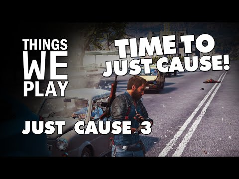 How to play Just Cause 3: Without pressing a button!