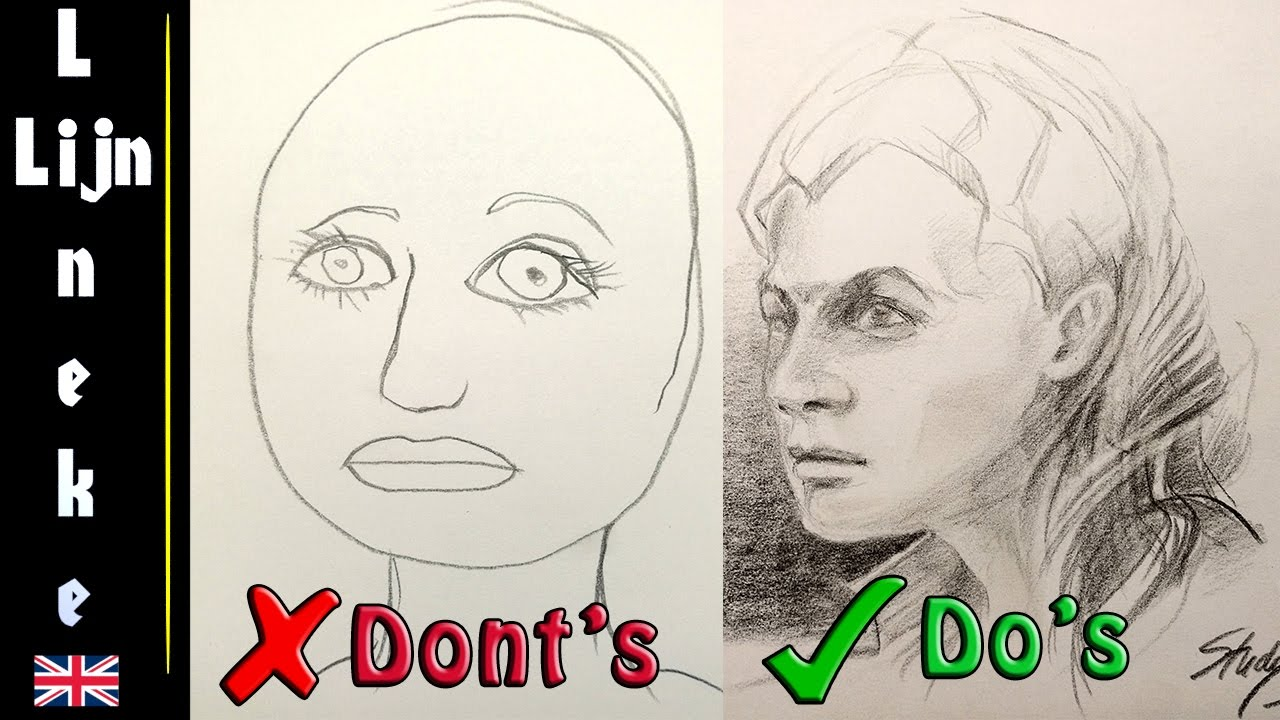 how to draw portraits for beginners pdf