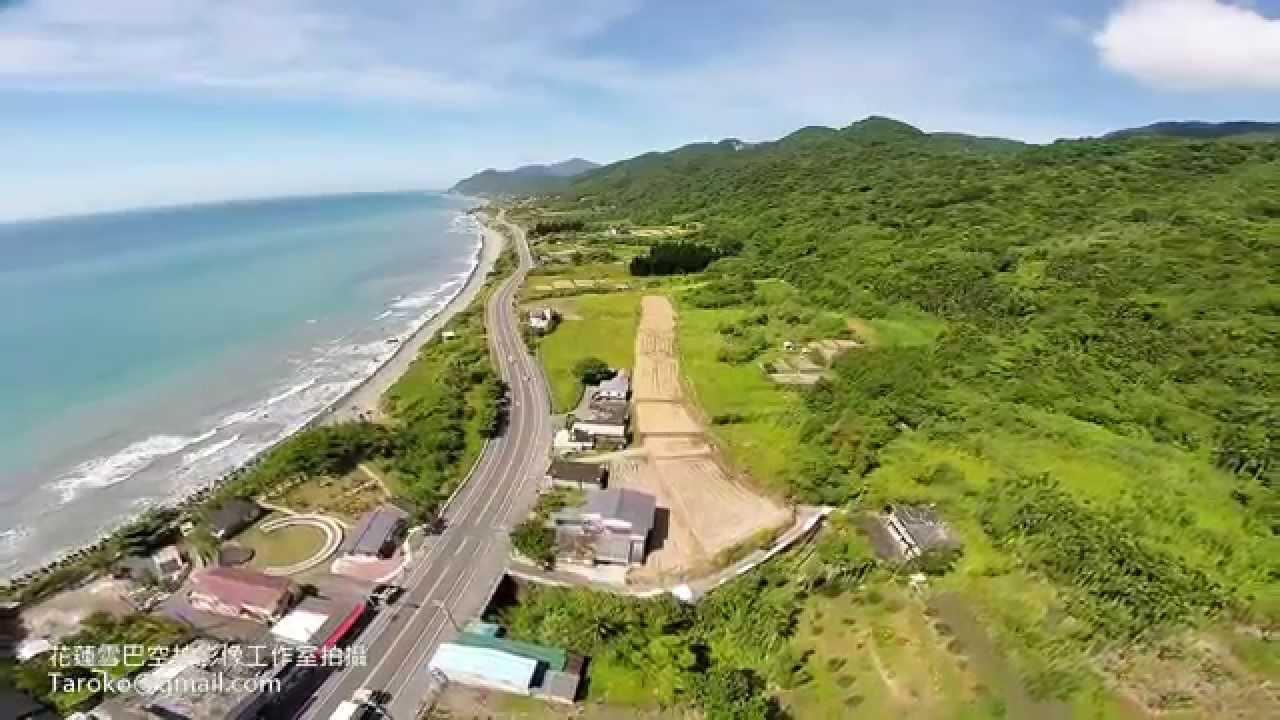 花蓮雪巴空拍影像工作室拍攝-東海岸夏稻收割後 - YouTube